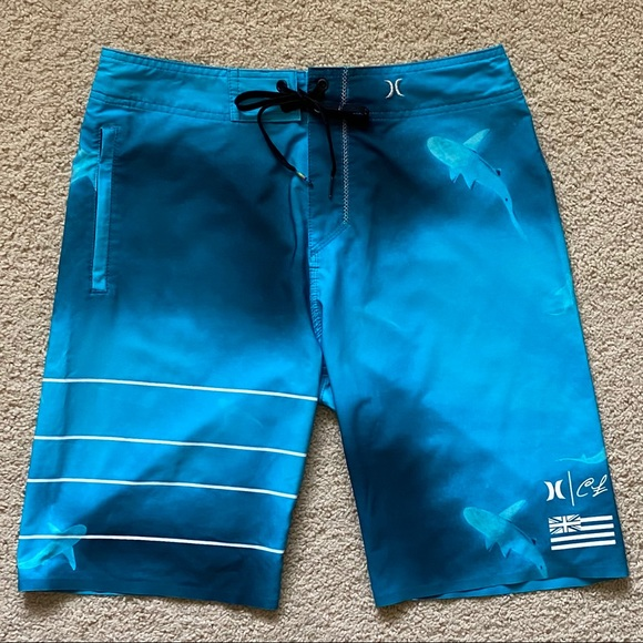 Hurley Other - ✨RARE✨Hurley x Clark Little Board Shorts | Size 29